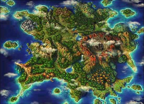 Chrono Cross Forbidden Island Map